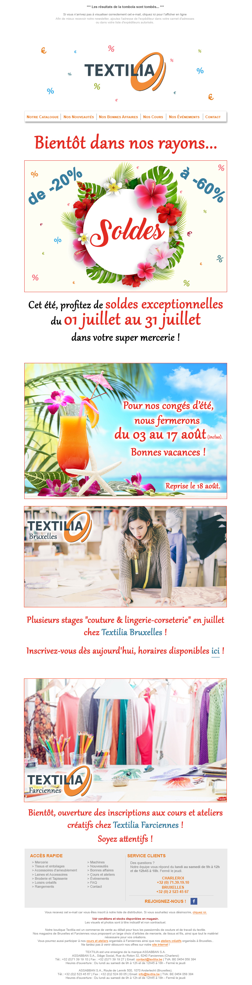 Textilia Newsletter