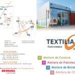 Textilia Flyer cours Farciennes