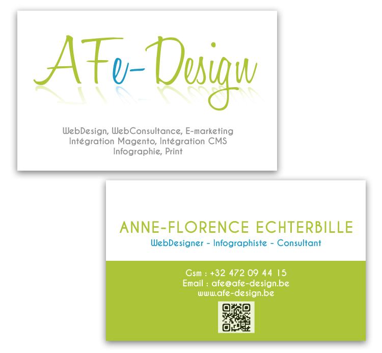 AFe-Design Carte de visite