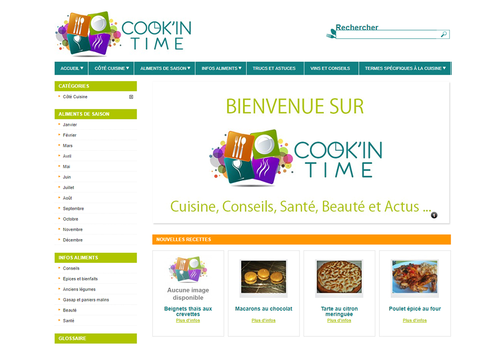 Cook-In-Time